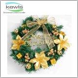 Kroon van Kerstmis van de Slinger van Kerstmis van Kerstmis de Decoratie Gekleurde Kunstmatige