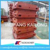 Hohes Einkommens-Maschinen-Formteil-Zeile verwendeter Form-Kasten für Gießerei