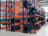 O armazenamento do armazém fácil monta o racking médio revestido potência do dever