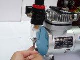 Перед лицом Airbrush Покрасочную искусства системы 16-цветной комплект Tattoo Airbrush компрессор