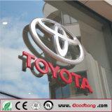 И их имя освещенные контржурным светом СИД логос автомобиля/логосы автомобиля для Тойота
