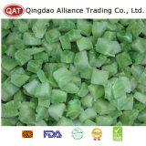 Courgette verte découpée congelée de bonne qualité