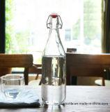 высоко белые пустые стеклянные бутылки 1L для питья (1058)