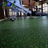 Aufbereitete EPDM Verschleißfestigkeit-Gummigymnastik-Bodenbelag-Rolle