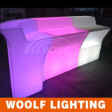 Oplaadbare Glow Tafel LED Outdoor Garden Bar Furniture