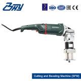 Bâti de fractionnement/découpage électrique portatif OD-Monté de pipe et machine taillante (SFM0612E)