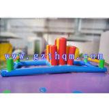 携帯用膨脹可能な水ゲームの子供のための小型膨脹可能なよろめきのゲーム
