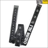 Cinta de medición vendedora caliente de Ftness de la manera de la personalización de la tela (FT-069)