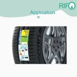 タイヤのためのラベルをカールする高温加硫タイヤ