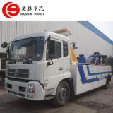 Caminhão usado da recuperação da estrada do caminhão de reboque do caminhão de Wrecker de DFAC 4*2 8ton