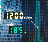 Soma do elevador de passageiros de alta velocidade com baixo ruído