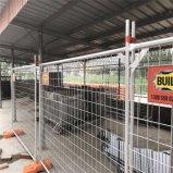 Painel provisório galvanizado mergulhado quente da cerca/cerca móvel