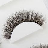 Di 3 accoppiamenti 3D del visone dei capelli dei cigli di bellezza sferze molli lunghe false del visone a strati