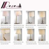 Lampada moderna del tavolino da notte di Guzhen con la tonalità ignifuga del tessuto