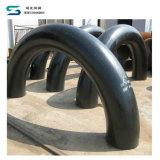 Coude d'acier inoxydable garnitures long de soudage bout à bout de coude de radius de 180 degrés