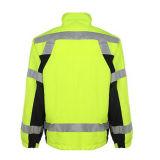 OEM индивидуальные хлопка светоотражающие безопасности куртка