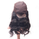 Parrucca serica della parte anteriore del merletto delle donne dell'onda del corpo dei capelli del merletto brasiliano reale 100% popolare dei gruppi
