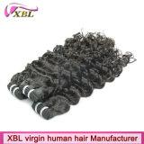 Cheveux brésiliens d'armure de prolongation de cheveux humains de pleine cuticle