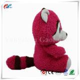 분홍색 귀여운 새로운 큰 눈 및 파란 너구리 동물성 견면 벨벳에 의하여 채워지는 장난감