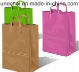 La atención de salud producto Bolso de compras personalizado con Logo de la bolsa de papel Kraft