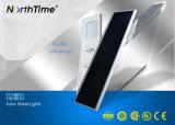 Luz de rua solar completa do sensor automático do corpo para o trajeto do jardim