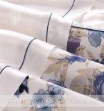 印刷されたクワ絹のサテンが付いているTaihuの雪の寝具セット