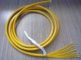 Câble fibre optique uni-mode d'intérieur de rubrique de faisceaux d'OEM Gjbfjh 24 par prix de mètre