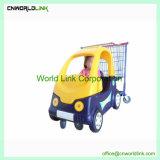 Carrello di acquisto della sede di automobile del giocattolo del bambino del carrello dei capretti per i bambini