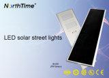 Lámpara al aire libre de PIR de movimiento del jardín todo junto del sensor con el panel solar
