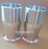 Accoppiamento di tubo flessibile rapido sanitario dell'accessorio per tubi dell'acciaio inossidabile