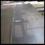 Nero, luminoso, schermo di alluminio dell'insetto di colore del carbone di legna per Windows
