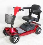 De vierwielige Hoge Autoped van de Mobiliteit van de Rugleuning