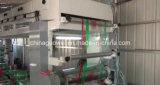 Calculateur contrôle plastificateur sec à vitesse moyenne de la machine avec la colle