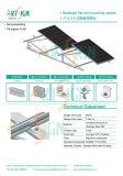 Солнечные фотоэлектрические системы для крепления на плоскую крышу