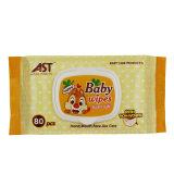 80 ПК Non-Woven хлопка малыша влажной салфеткой детские товары
