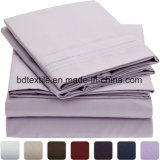 100 % polyester Tissu en microfibre pour drap de lit