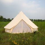 De wind het Kamperen van de Familie Grote van de Katoenen van de Gebeurtenis van het Tipi Tent Klok van het Canvas