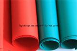 PVC 차양에 의하여 박판으로 만들어지는 방수포 방수 직물 루핑 (500dx300d 18X12 340g)