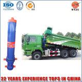Cylindre hydraulique télescopique à plusieurs étages pour le camion à benne basculante
