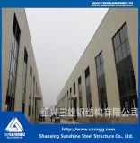 Norma ISO Prefab Estrutura de aço com aço galvanizado farol H