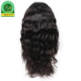 La máxima calidad de pelo humano delantero brasileño peluca peluca de encaje