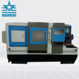 Macchinario del tornio di CNC della base piana con la corsa di asse di 210mm X