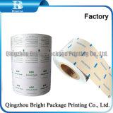 El papel de aluminio de gasa con alcohol isopropílico al 70%