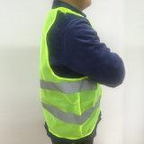 60g de weerspiegelende Werkkledij van het Vest verstrekt Hoog Zicht Dag Nacht voor het Runnen van het Cirkelen het Vest van de Veiligheid van de Waarschuwing