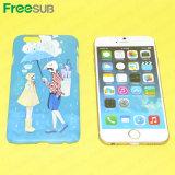 Cassa in bianco del telefono mobile di sublimazione di Freesub 3D per il iPhone (IP6)