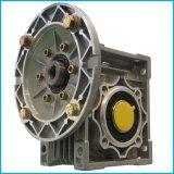 Caixa de engrenagens personalizada mecânica do sem-fim da série da maquinaria rv do ferro de molde de matéria têxtil da transmissão de poder Nmrv050