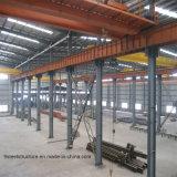 Almacén prefabricado del edificio de la soldadura al acero del diseño de acero de la construcción