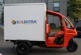 2018 Nuevo contenedor de carga triciclo