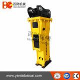 Leiser Typ hydraulischer Exkavator-Hammer mit Meißel 155mm