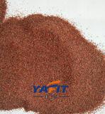 Wasserstrahlausschnitt-roter Granat-Sand für das Sand-Starten